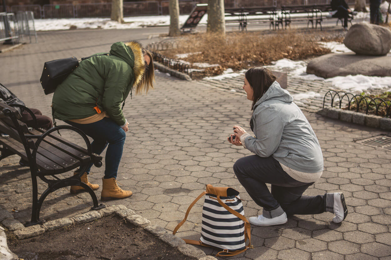 Photo 4 Battery Park Marriage Proposal 2 | VladLeto