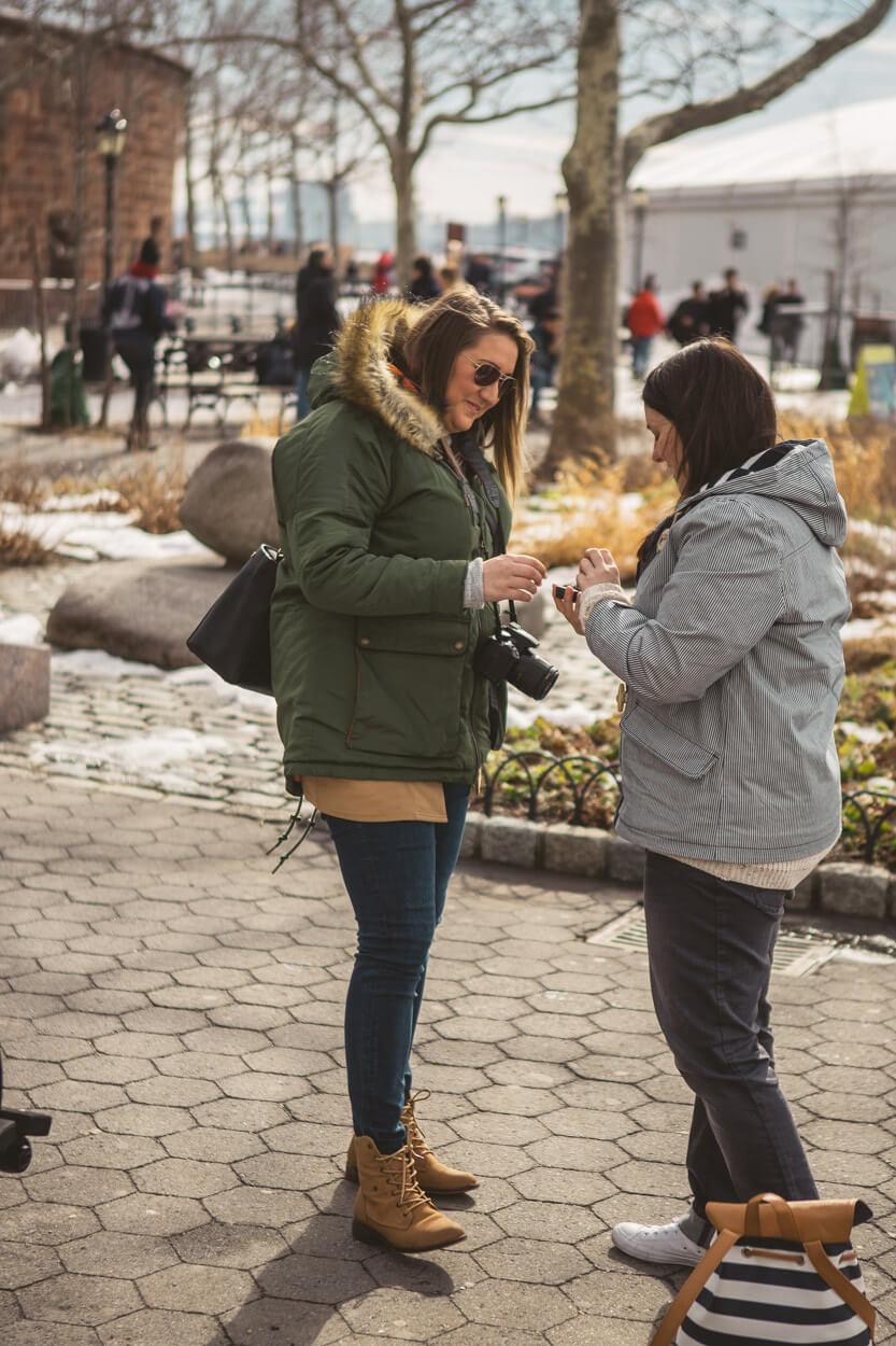 Photo 7 Battery Park Marriage Proposal 2 | VladLeto