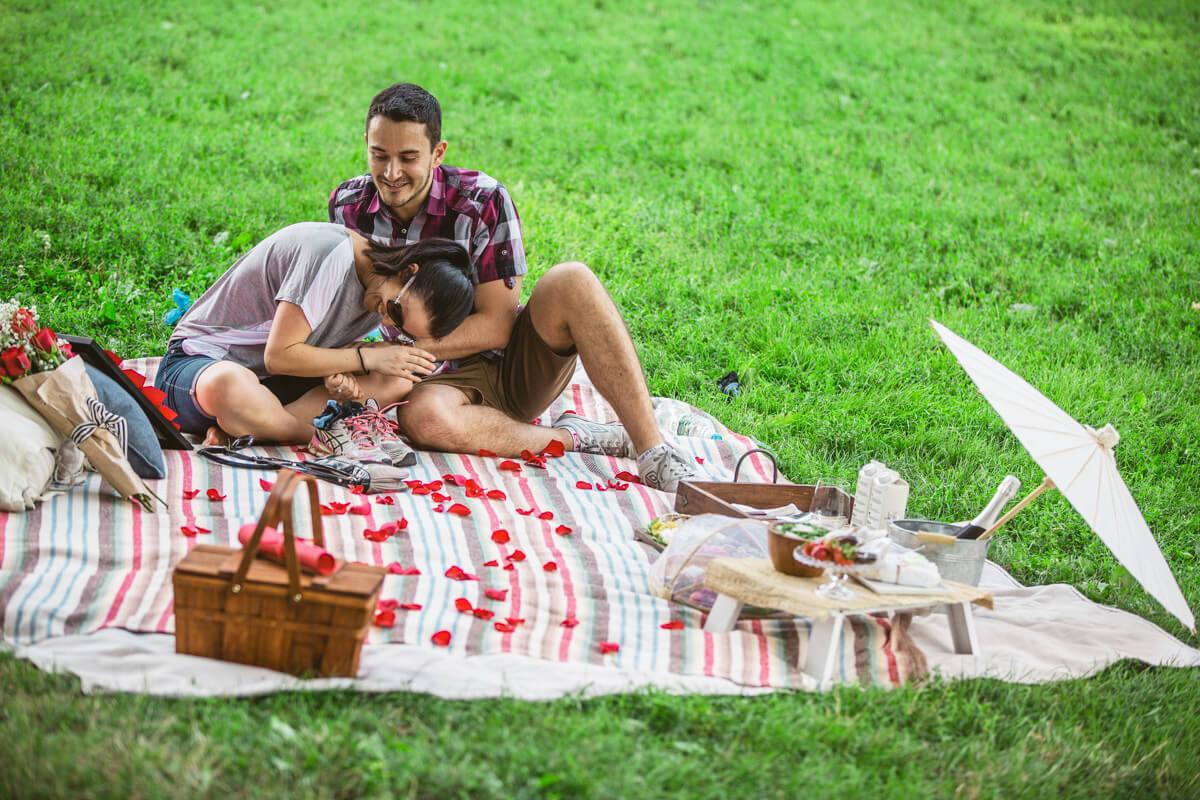 Photo 8 Central Park Picnic Proposal
