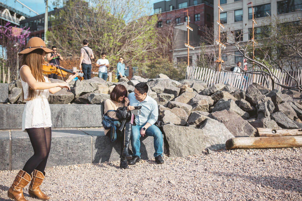 Photo 3 Main street park - Dumbo, Brooklyn Marriage proposal. (photo+video) | VladLeto