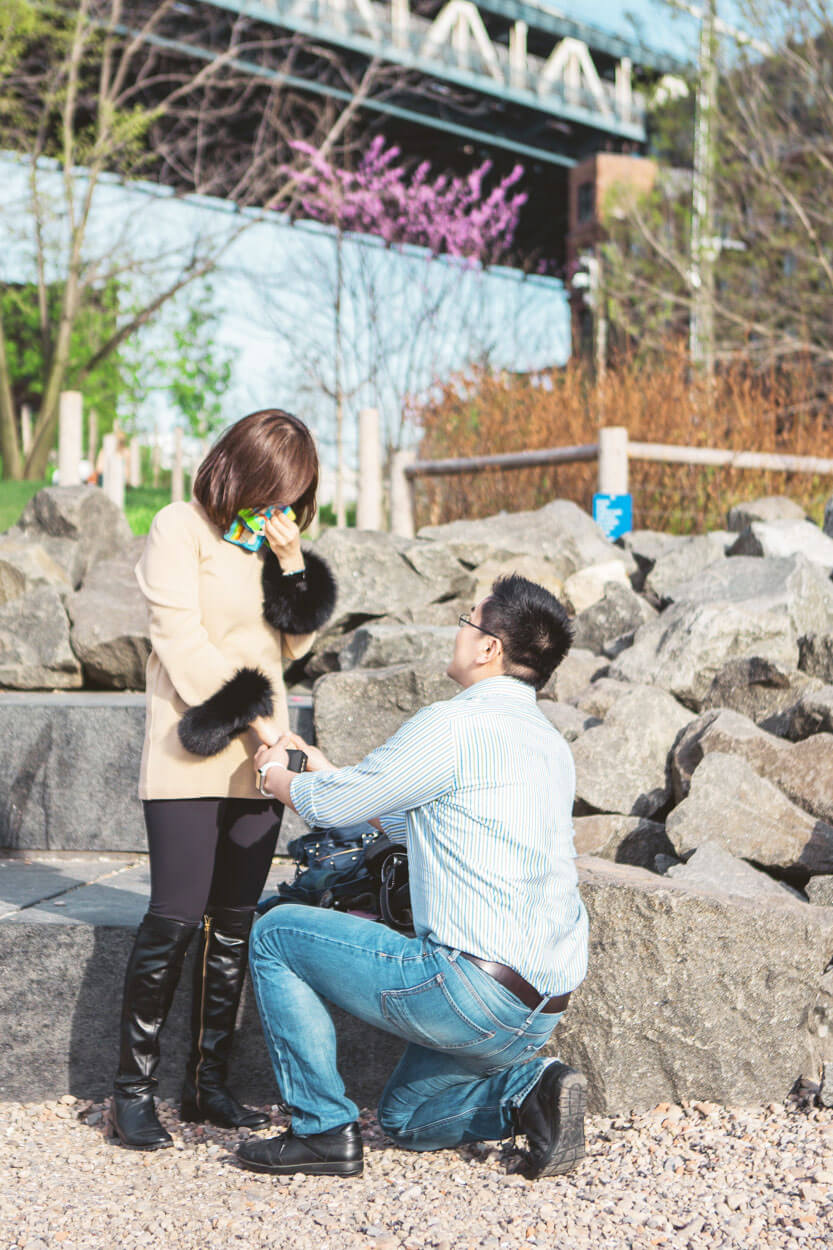 Photo 4 Main street park - Dumbo, Brooklyn Marriage proposal. (photo+video) | VladLeto
