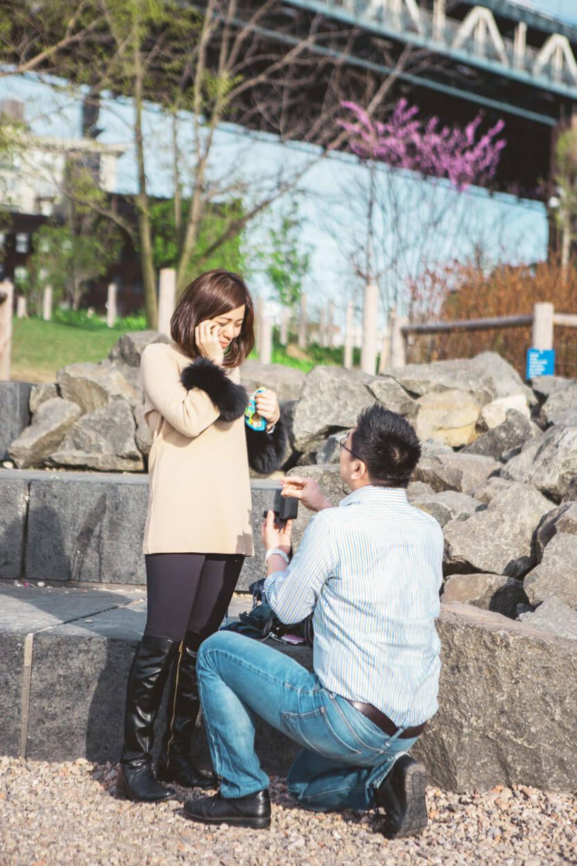 Photo 4 Main street park - Dumbo, Brooklyn Marriage proposal. (photo+video)   VladLeto