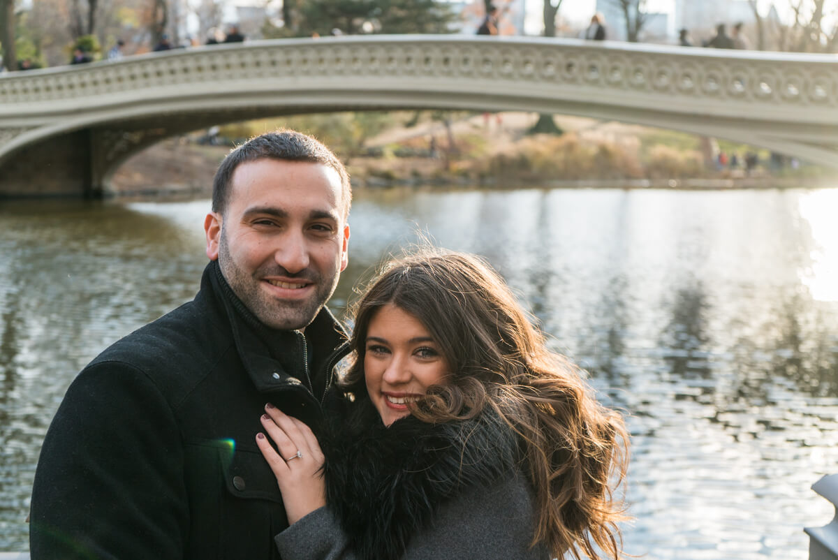 Photo 4 Bow Bridge view Marriage Proposal. Central Park. | VladLeto