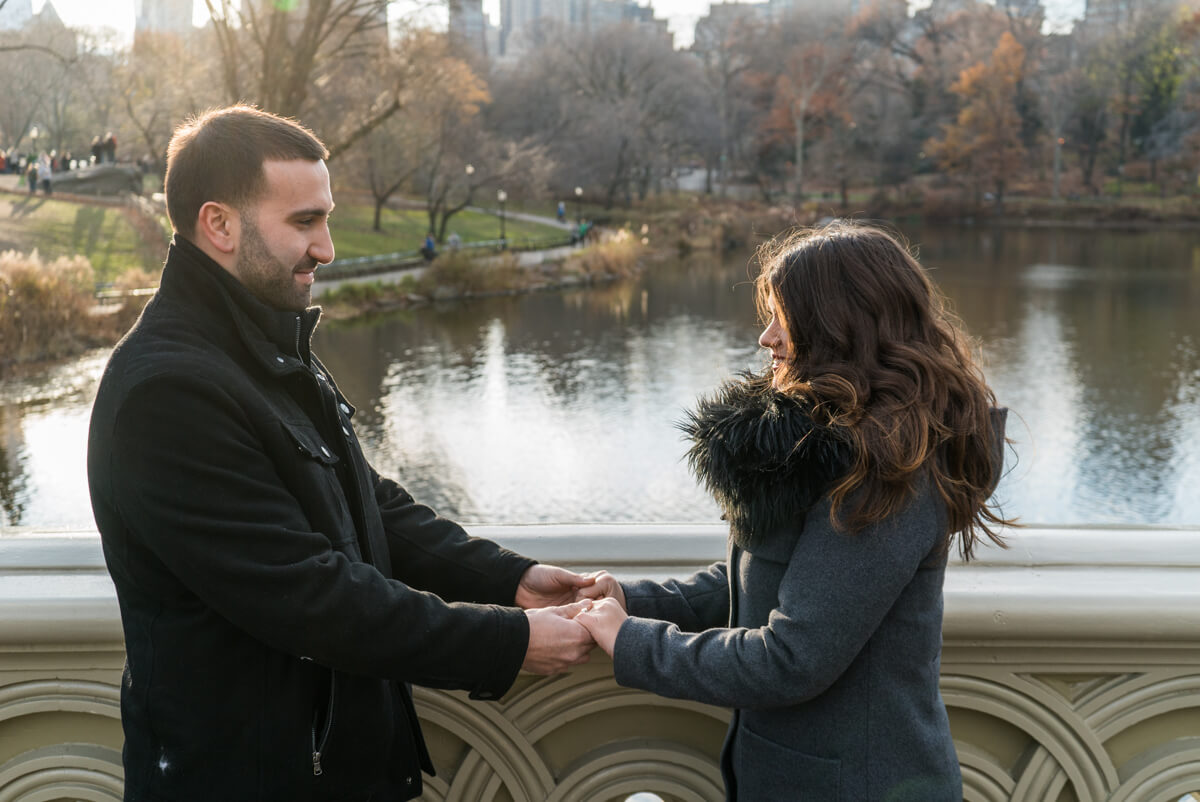 Photo 7 Bow Bridge view Marriage Proposal. Central Park. | VladLeto