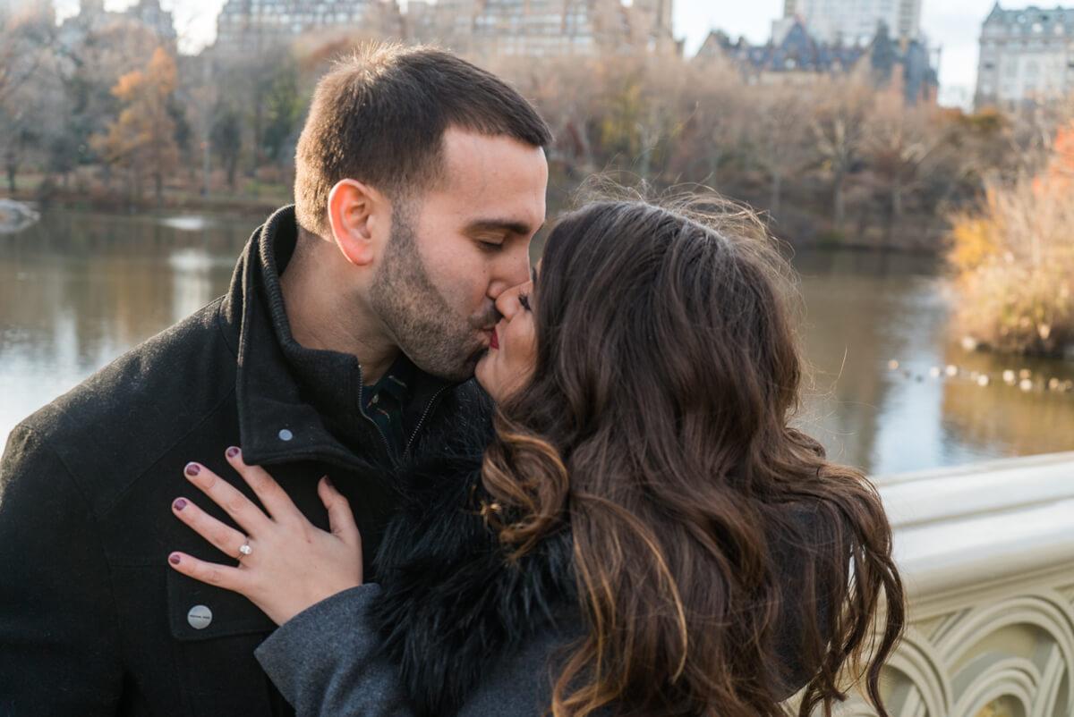 Photo 5 Bow Bridge view Marriage Proposal. Central Park. | VladLeto