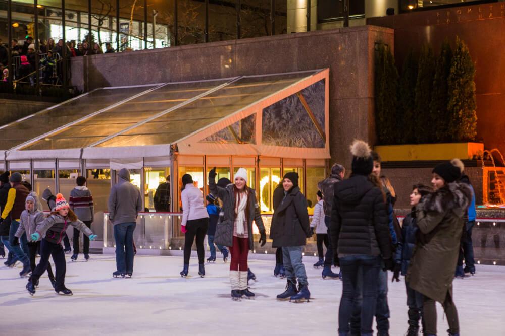 Photo Rockefeller Center Ice Skating Proposal | VladLeto