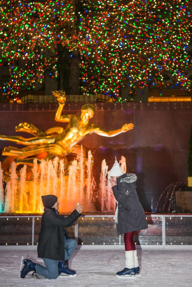 Photo 3 Rockefeller Center Ice Skating Proposal | VladLeto