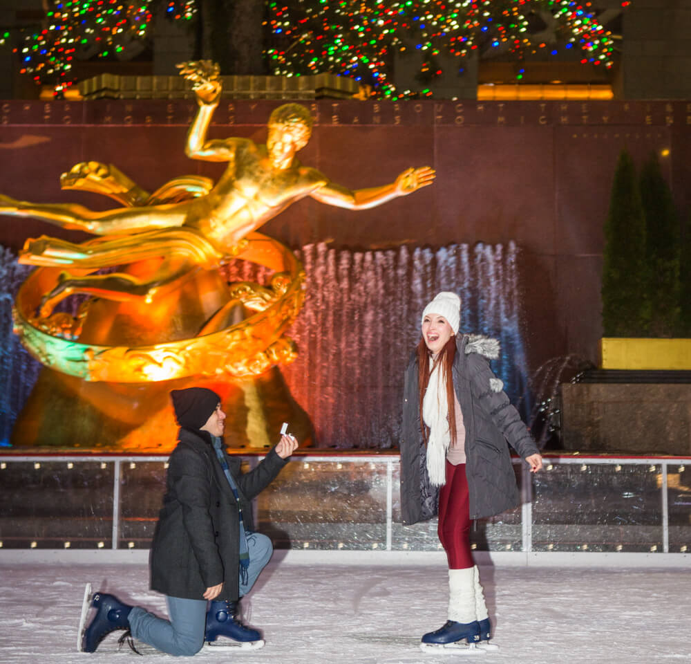 Photo 7 Rockefeller Center Ice Skating Proposal | VladLeto