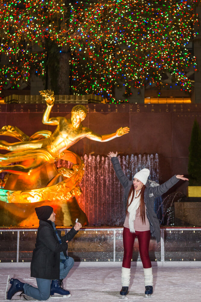 Photo 5 Rockefeller Center Ice Skating Proposal | VladLeto