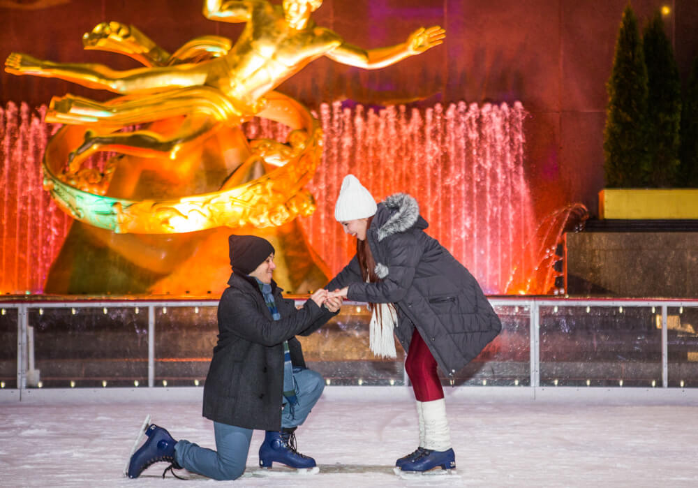 Photo 7 Rockefeller Center Ice Skating Proposal | VladLeto