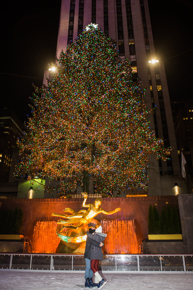 Photo 8 Rockefeller Center Ice Skating Proposal | VladLeto
