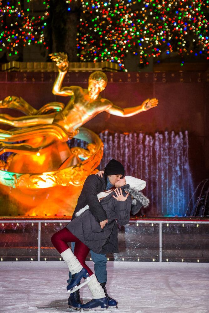 Photo 9 Rockefeller Center Ice Skating Proposal | VladLeto