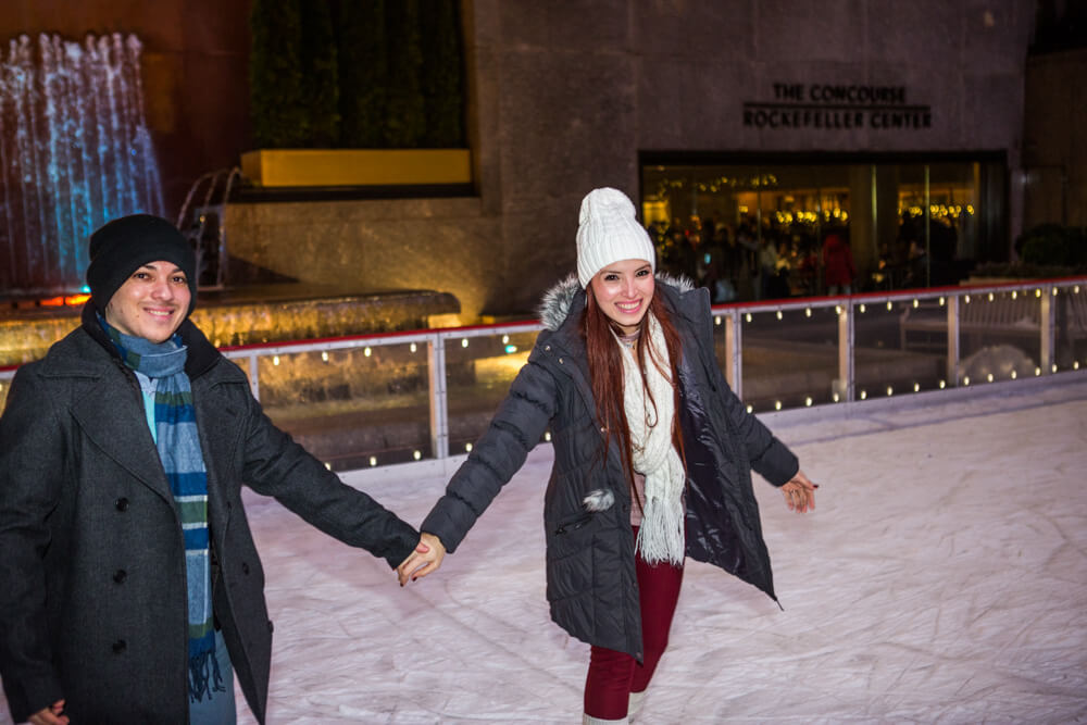 Photo 10 Rockefeller Center Ice Skating Proposal | VladLeto