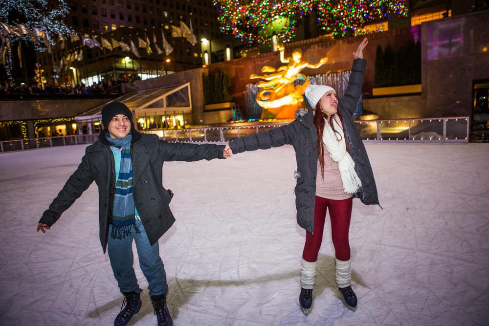 Photo 12 Rockefeller Center Ice Skating Proposal | VladLeto