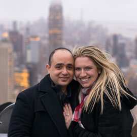 Top Of The Rock Marriage Proposal