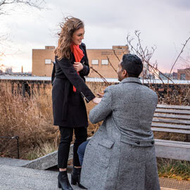 Photo High Line Marriage Proposal 2 | VladLeto