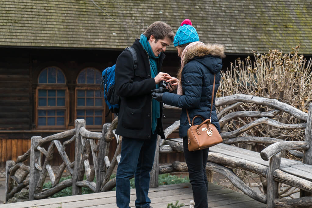 Photo 4 Shakespeare Garden Wedding Proposal   VladLeto
