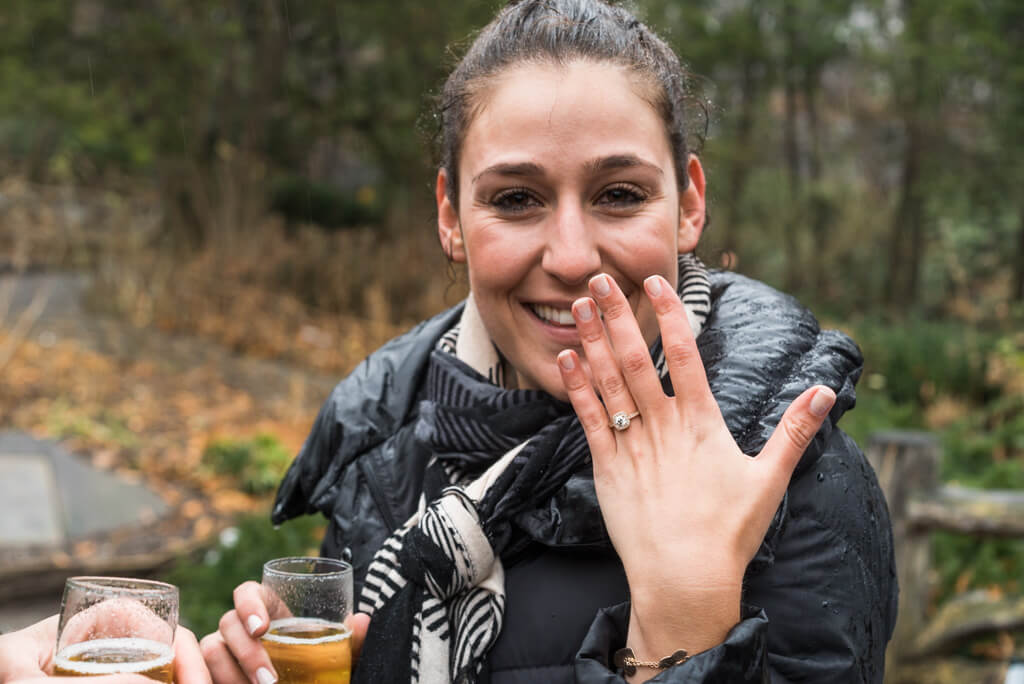 Photo 5 Shakespeare Garden Surprise Proposal | VladLeto