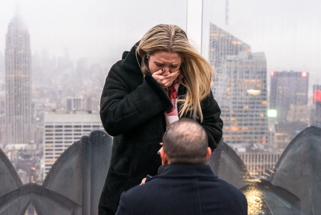 Photo 5 Top of The Rock Marriage Proposal