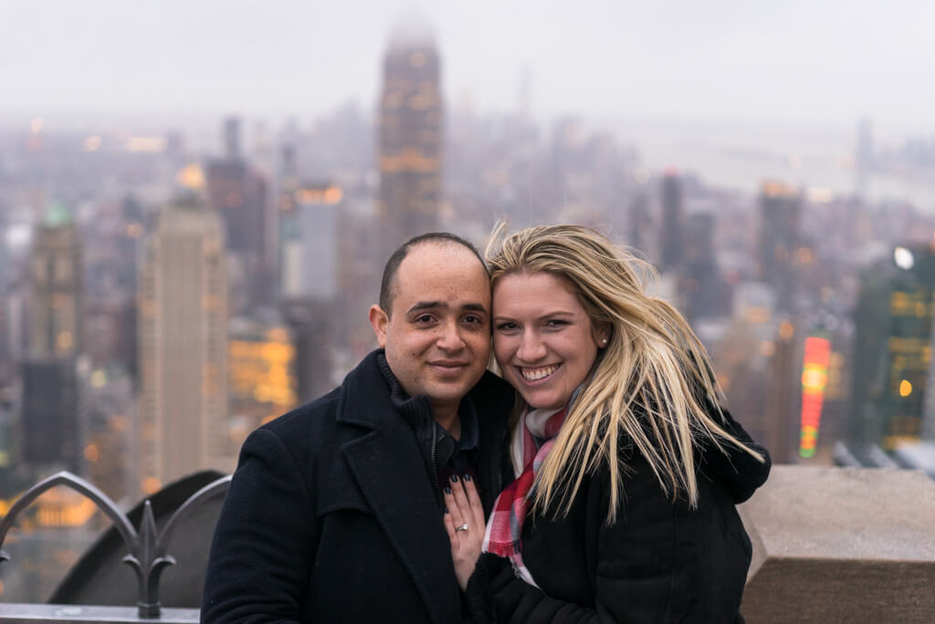 Photo 4 Top of The Rock Marriage Proposal