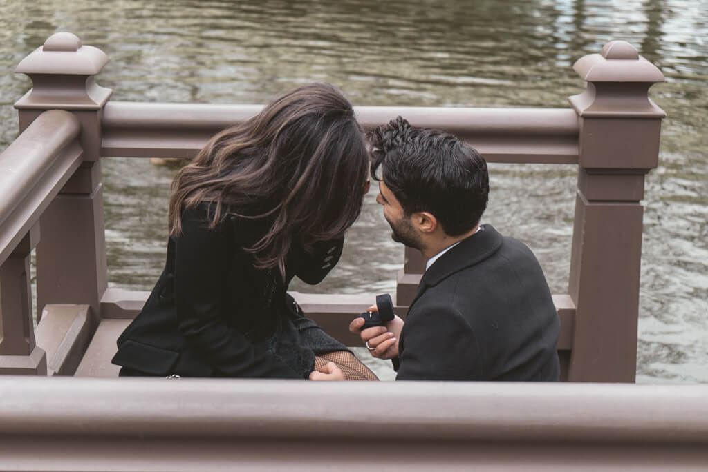 Photo 3 Bow Bridge Surprise Proposal | VladLeto