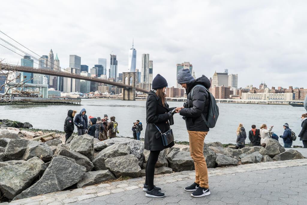 Photo 2 Dumbo Brooklyn Marriage Proposal | VladLeto