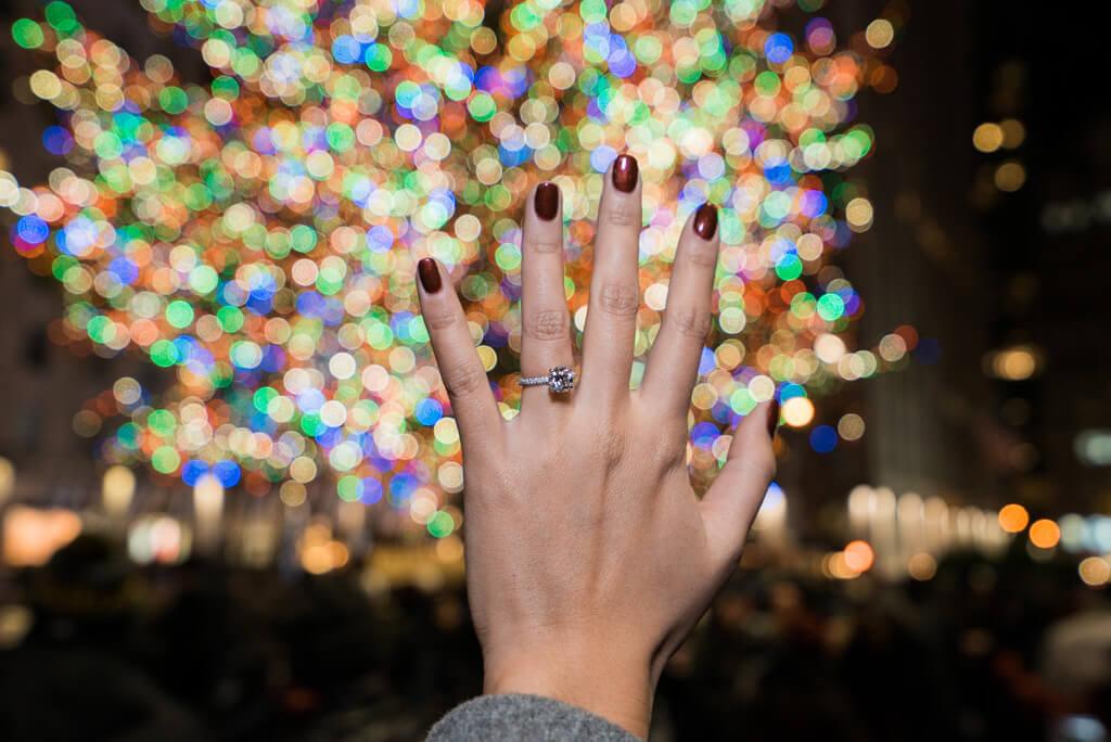 Photo 7 Christmas Tree Marriage Proposal | VladLeto