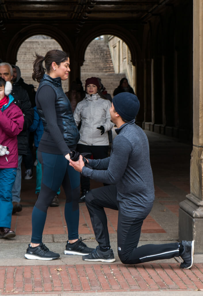 Photo 2 Central Park Bethesda Terrace Marriage Proposal | VladLeto