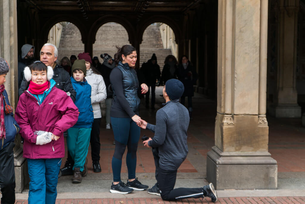 Photo 4 Central Park Bethesda Terrace Marriage Proposal | VladLeto