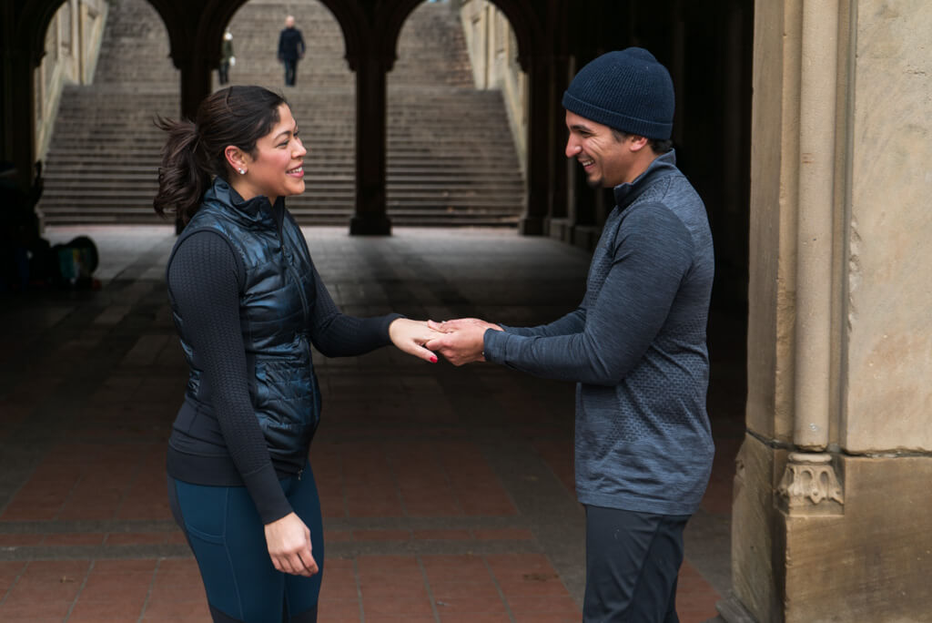 Photo 9 Central Park Bethesda Terrace Marriage Proposal | VladLeto