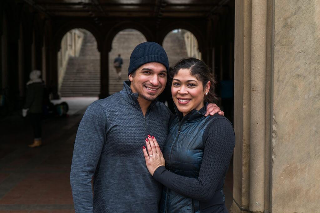 Photo 6 Central Park Bethesda Terrace Marriage Proposal   VladLeto