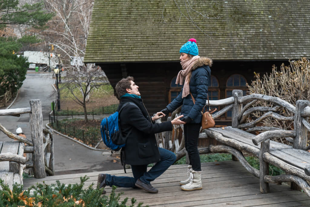 Photo Shakespeare Garden Wedding Proposal | VladLeto