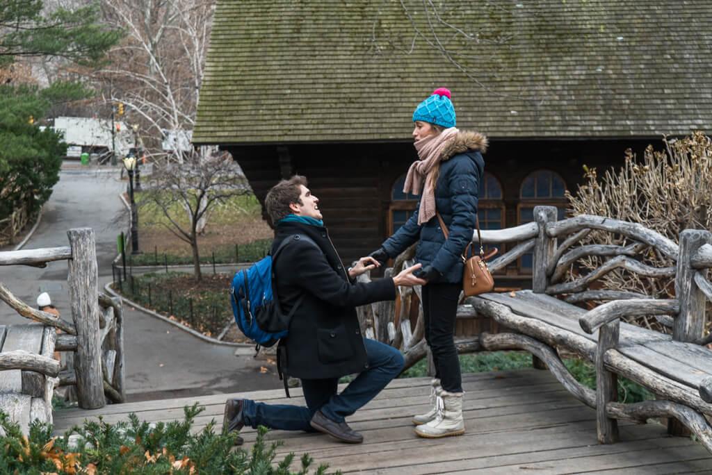 Photo Shakespeare Garden Wedding Proposal   VladLeto