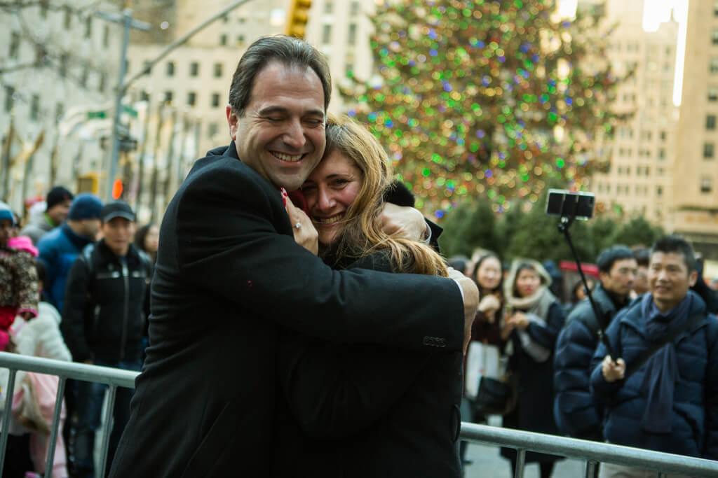 Photo 3 Rockefeller Center Marriage Proposal | VladLeto