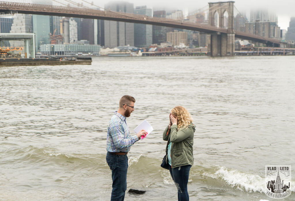 Photo Brooklyn Bridge view Proposal | VladLeto