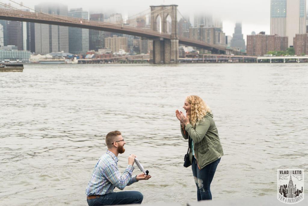 Photo 7 Brooklyn Bridge view Proposal | VladLeto