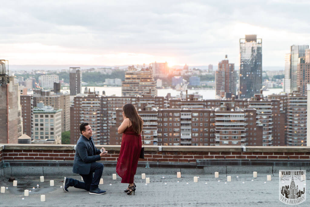 Photo Rooftop Marriage Proposal | VladLeto