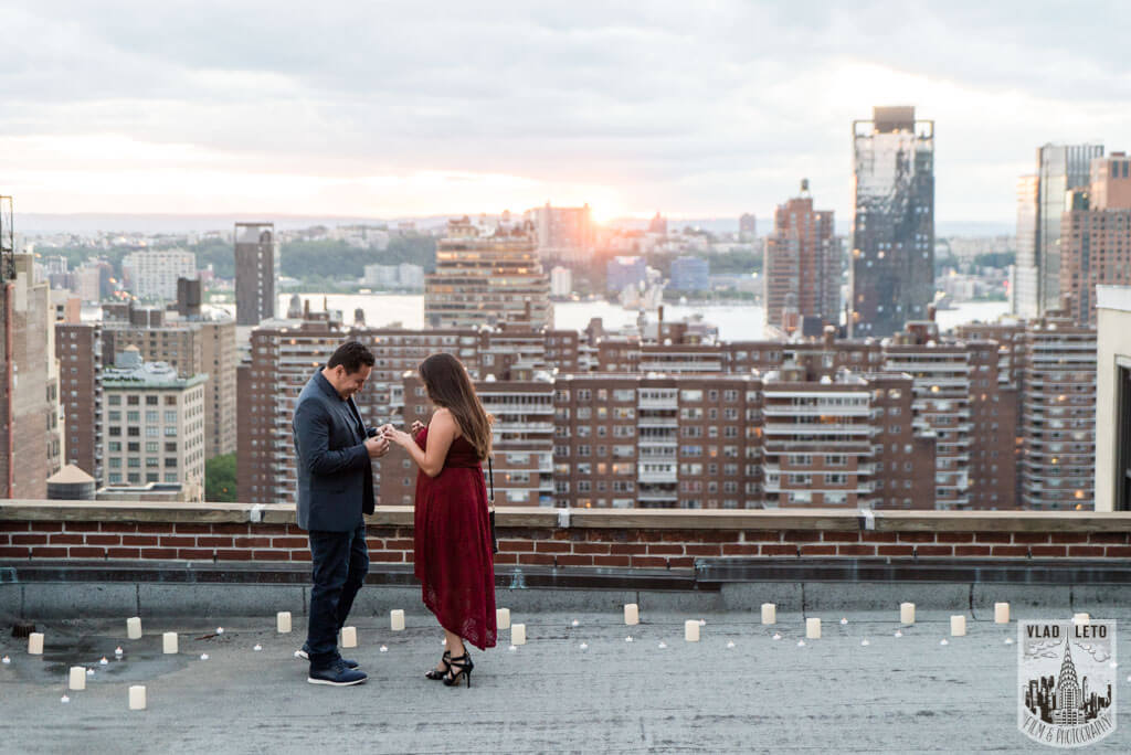 Photo 14 Rooftop Marriage Proposal | VladLeto