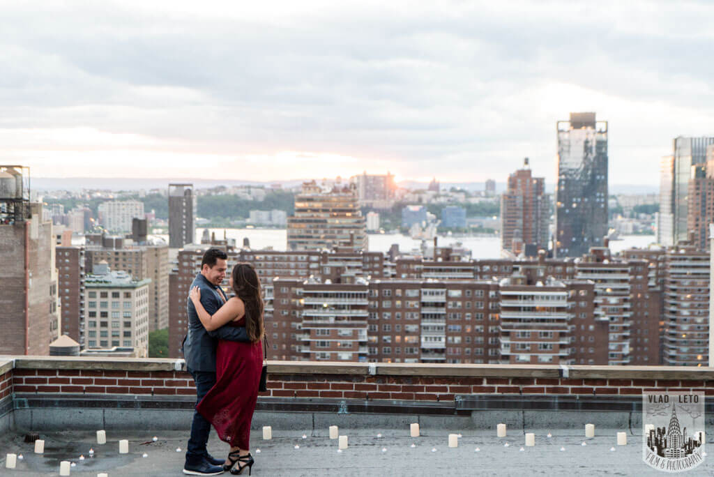 Photo 29 Rooftop Marriage Proposal | VladLeto
