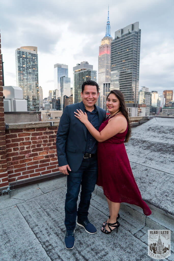 Photo 13 Rooftop Marriage Proposal | VladLeto