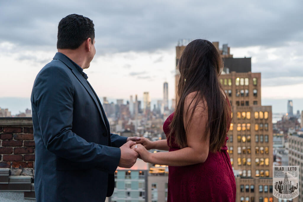 Photo 12 Rooftop Marriage Proposal | VladLeto