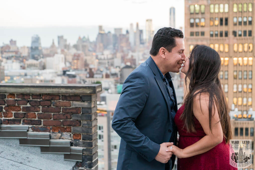 Photo 10 Rooftop Marriage Proposal | VladLeto