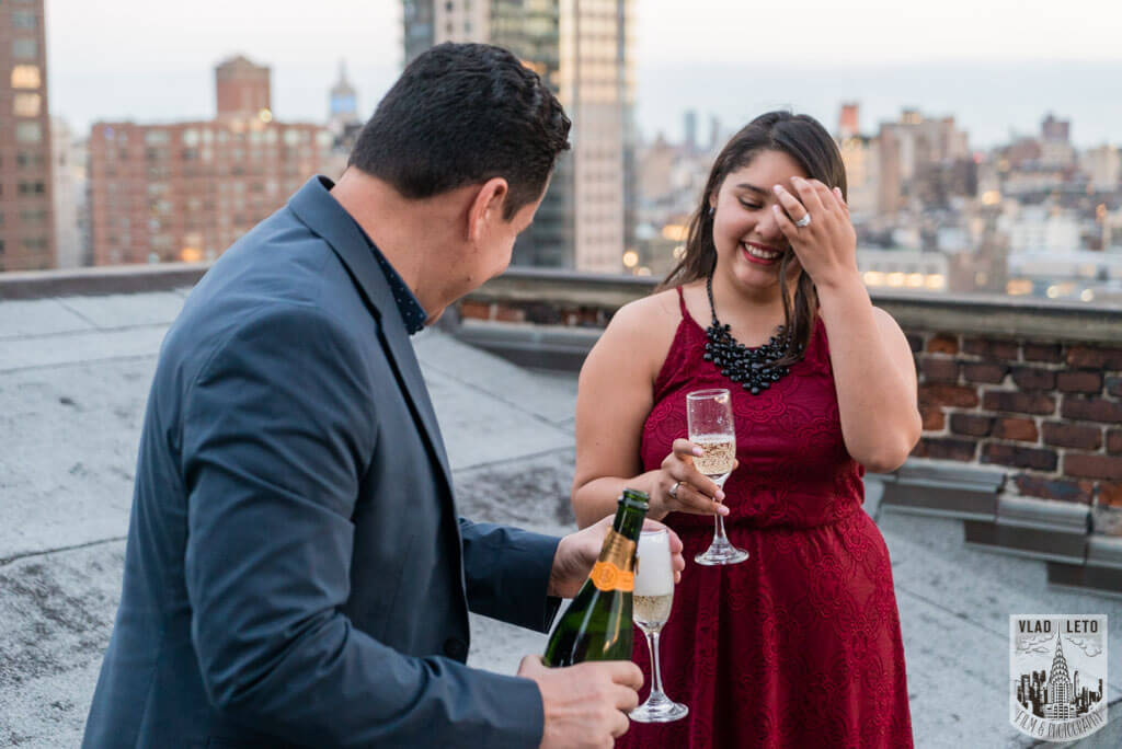 Photo 11 Rooftop Marriage Proposal | VladLeto