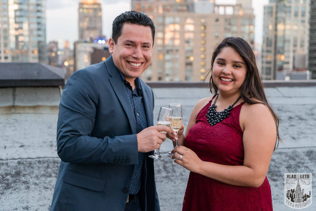 Photo 9 Rooftop Marriage Proposal | VladLeto