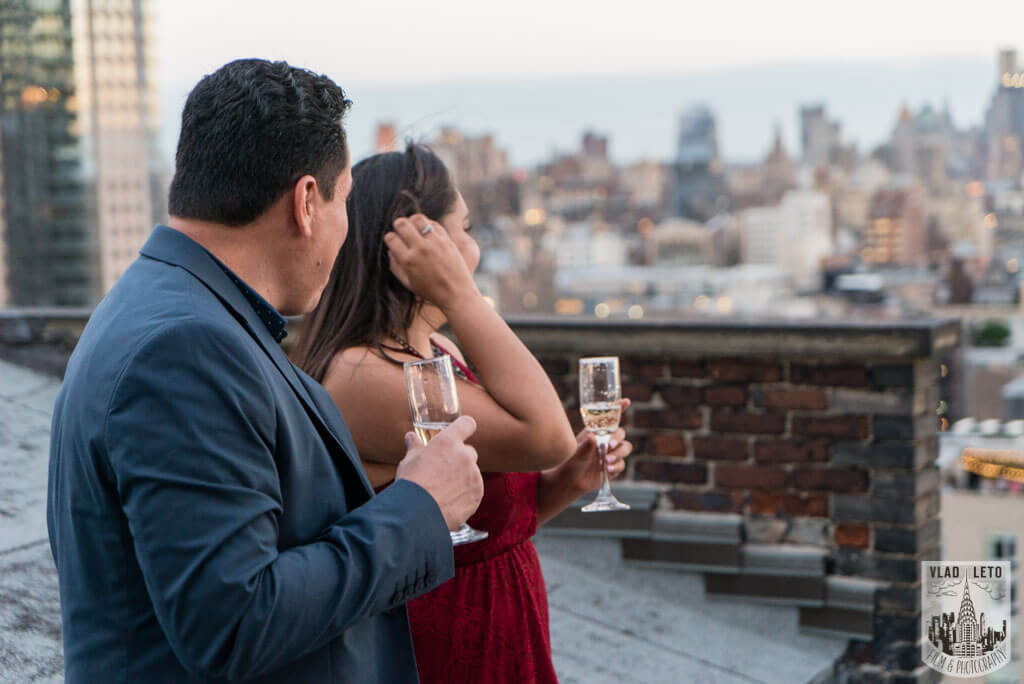 Photo 8 Rooftop Marriage Proposal | VladLeto