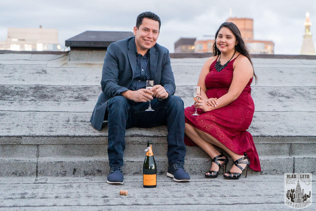 Photo 7 Rooftop Marriage Proposal | VladLeto