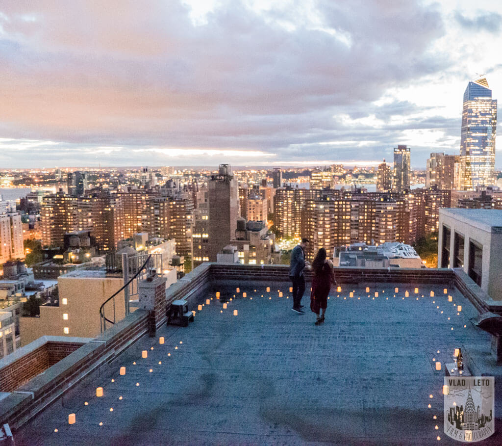 Photo 3 Rooftop Marriage Proposal | VladLeto