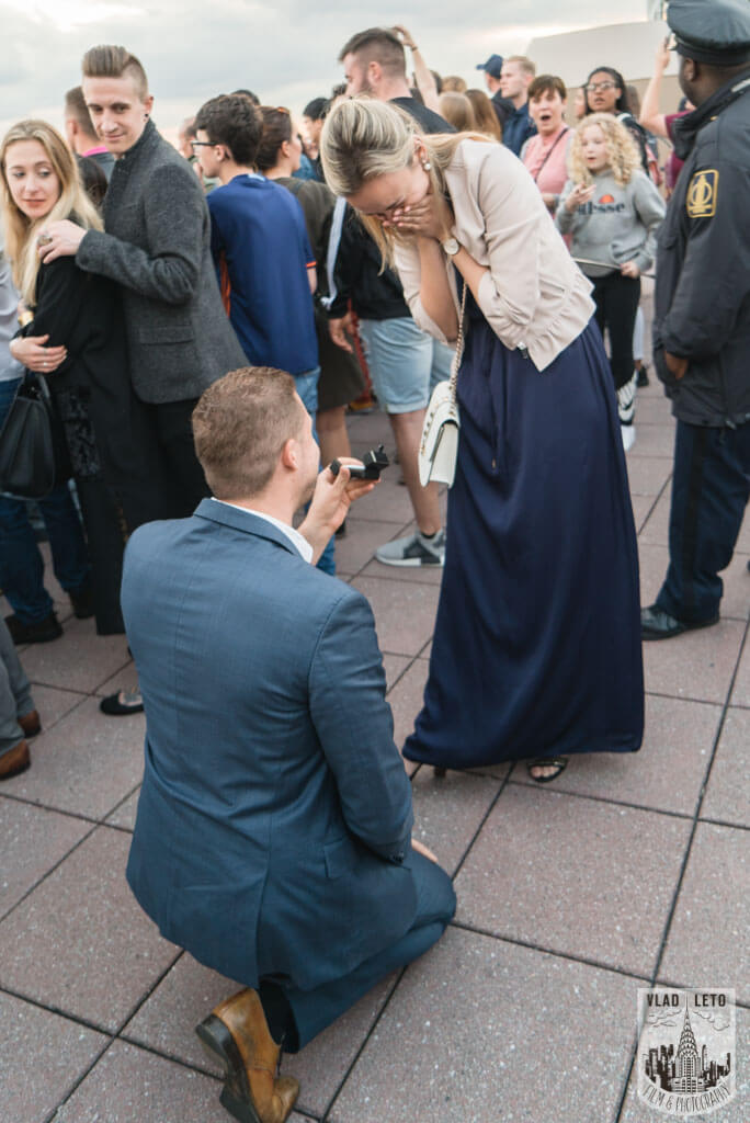 Photo Top Of The Rock Surprise Proposal. | VladLeto