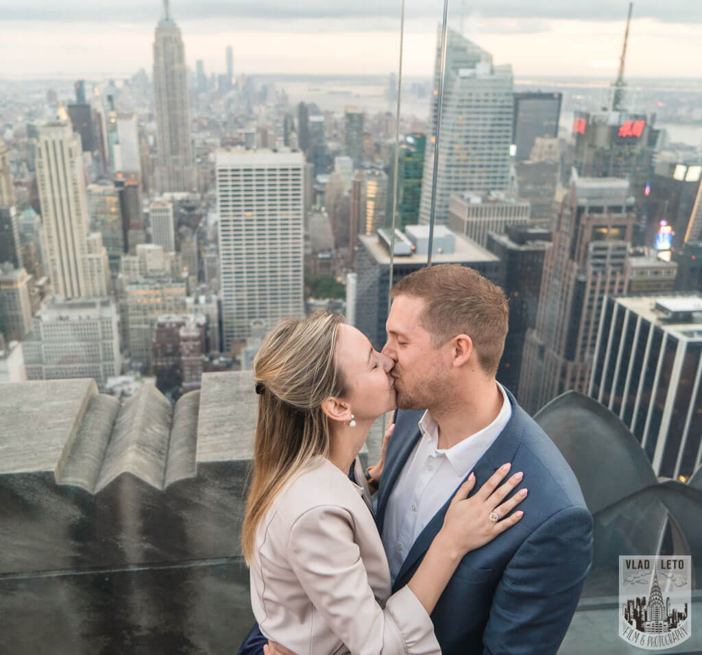 Photo 22 Top Of The Rock Surprise Proposal. | VladLeto