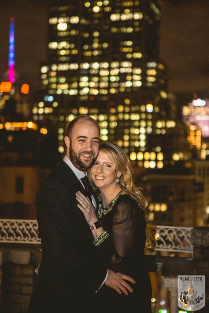 Photo 4 Private Rooftop Proposal with Empire State Building view. | VladLeto